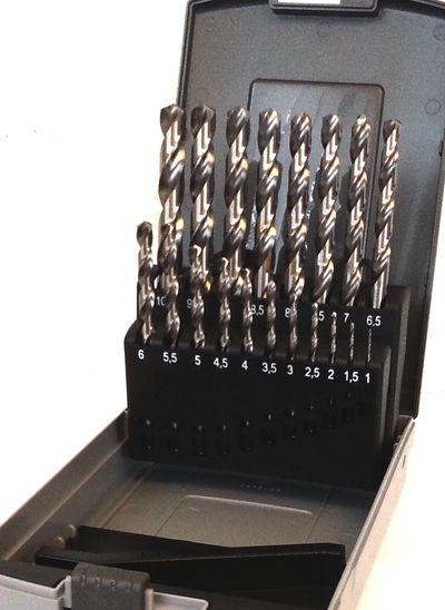 Spiralbohrersatz HSS-CO Pro Ø1-13x0,5mm