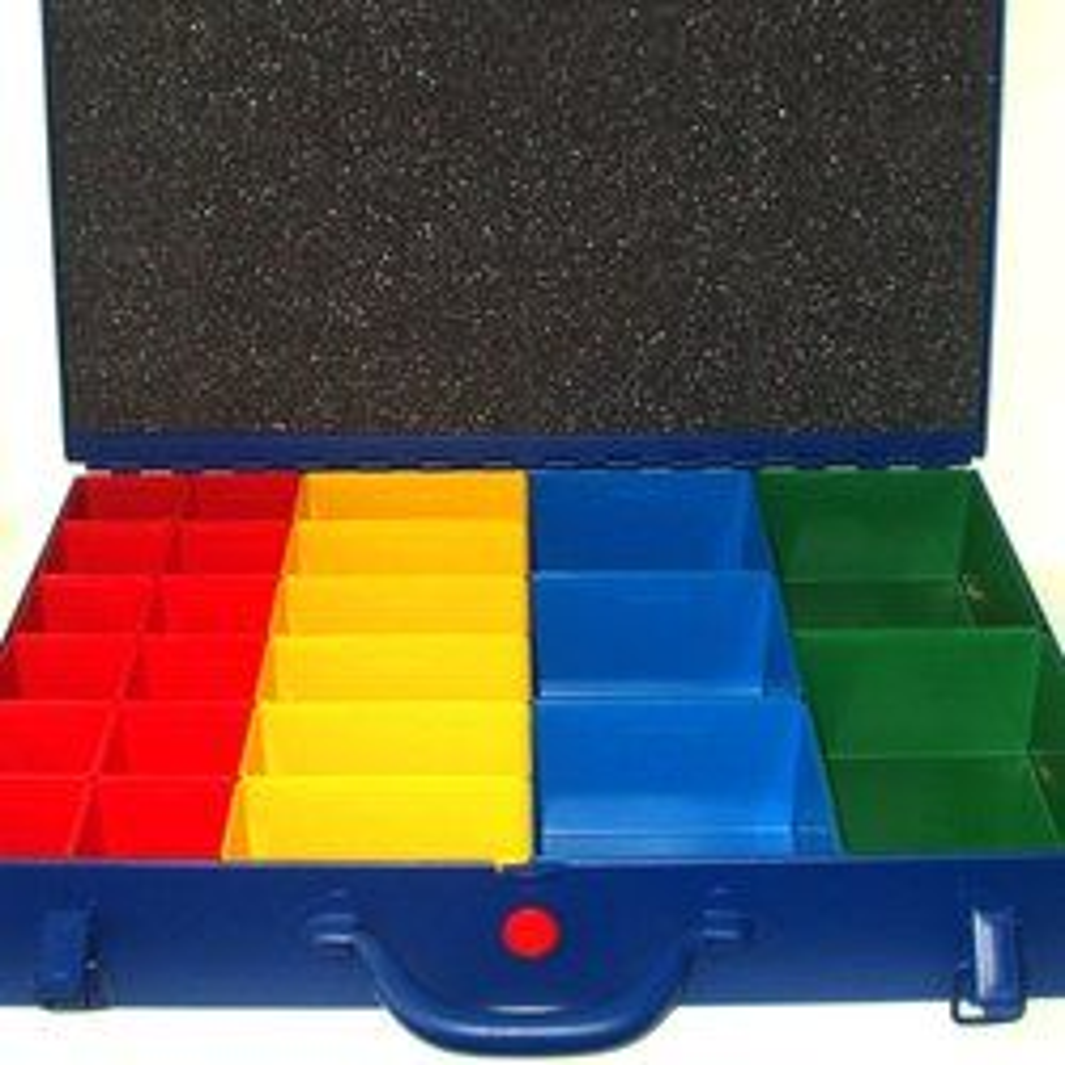 Sortimentskoffer 440x330x66mm blau