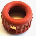 Manometer-Gummikappe Rot