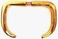 Messing Griffdrückerpaar 8mm vierkant