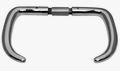 MessingChrom Griffdrückerpaar 9mm vierk.