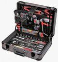 Werkzeugkoffer Mechaniker 120tlg Alu/dunkel