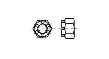 DIN935/ähnl.ISO7035 Kronenmuttern