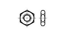 DIN936/ähnl.ISO4035 flache Muttern